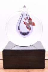 mini-urn paars €165,-