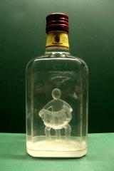 accordeonist in drankfles