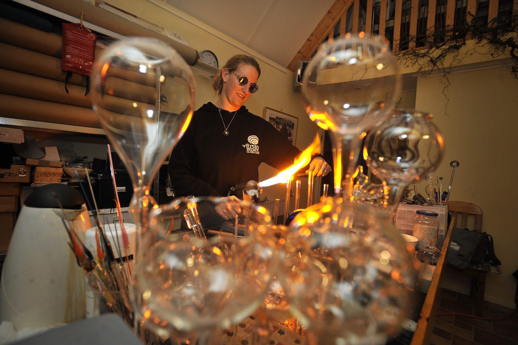 Vitrum Limax Glasblazerij En Atelier